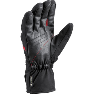 ski rokavice LEKI Spox GTX črna / rdeča, Leki