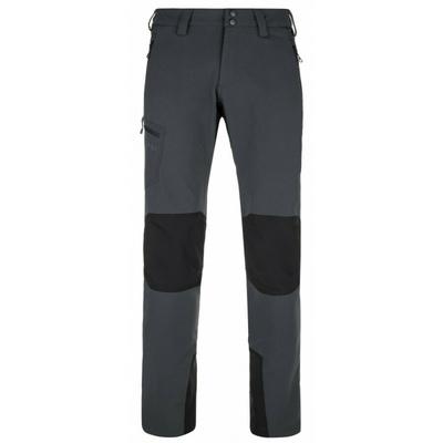 Moška zunanja tekma hlače Kilpi TIDE-M temno siva, Kilpi