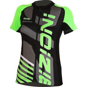 ciklo majica Lasting WD73 črno-zelena, Lasting