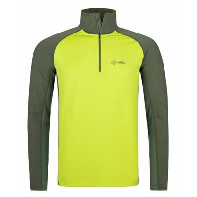Moški funkcionalni dolga majica rokav Kilpi WILLIE-M svetlo zelena, Kilpi