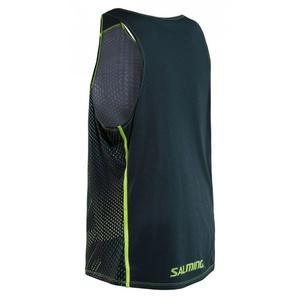 moški spodnja Salming Breeze rezervoar moški Sharp Lime AOP / globoko Teal melange, Salming