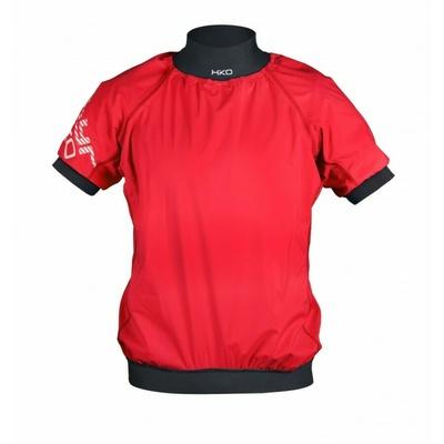 Vodna jakna Hiko ZEPHYR s kratkimi rokavi rdeča, Hiko sport