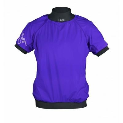 Vodna jakna Hiko ZEPHYR s kratkimi rokavi vijolična, Hiko sport